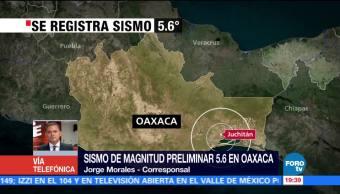 Sismo de magnitud 5.5 en Juchitán se sintió muy fuerte en Oaxaca