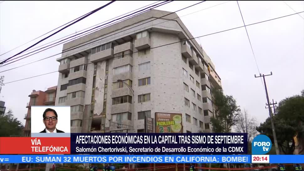 Impacto del sismo en la economía de la CDMX