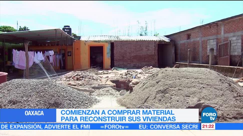 Oaxaca se prepara para la reconstrucción