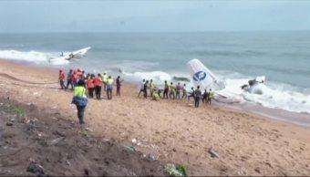 Mueren 4 personas tras accidente aéreo en Costa de Marfil