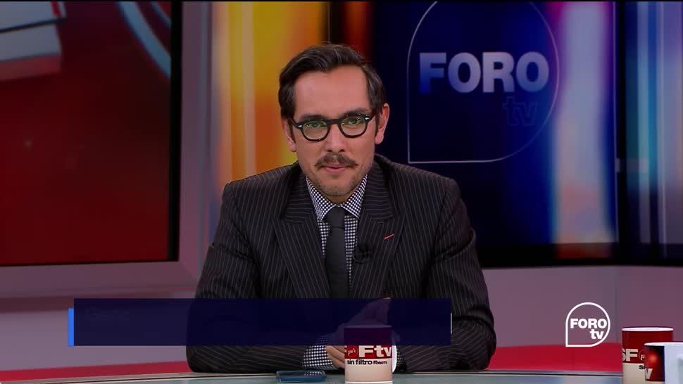 Sin Filtro con Genaro Lozano: Programa del 15 de octubre del 2017