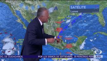 Despierta con Tiempo: Frente frío de interna en Veracruz hacia el centro
