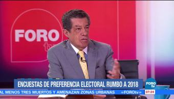 Encuestas de preferencia electoral rumbo a 2018