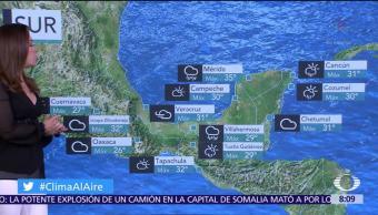 Clima Al Aire: Frente frío favorecerá lluvias en la Ciudad de México