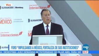 José Antonio Meade habla en el Foro 'Impulsando a México'