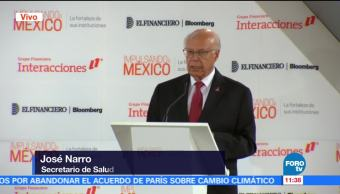 Salud, prioridad para el Gobierno federal, afirma José Narro