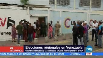 Venezuela carece de líder en la oposición: Víctor Manuel Prudencio
