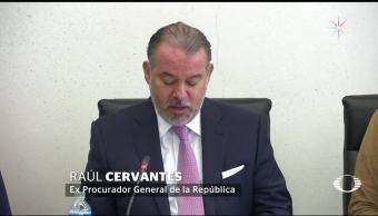 Raúl Cervantes renuncia a la PGR