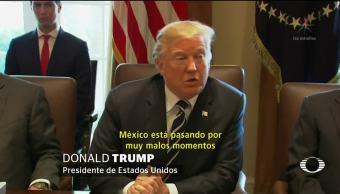 Trump insiste con la construcción del muro