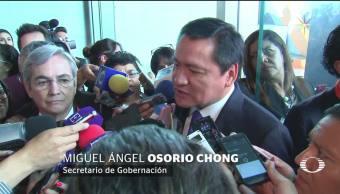 Osorio Chong le responde a AMLO