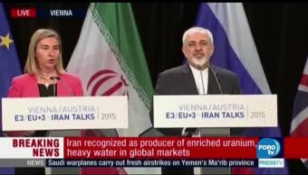 Trump deja al Congreso la suerte del tratado nuclear con Irán
