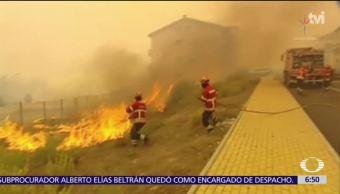 Suman 40 muertos por incendios forestales en la Península Ibérica
