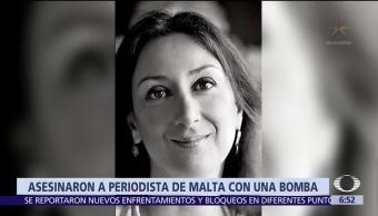 Asesinan a la periodista Daphne Galizia, colaboradora del reportaje 'Panama Papers'