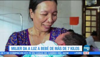 Extra, Extra: Mujer vietnamita da a luz a bebé de más de 7 kilos
