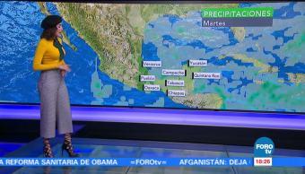 Clima Noticias Daniela Álvarez Llegada Frente Frío No
