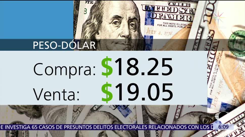 El dólar se vende en 19.05