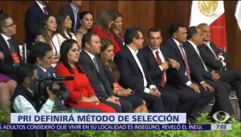 PRI convoca al Consejo Político Nacional para publicar convocatorias de candidatos