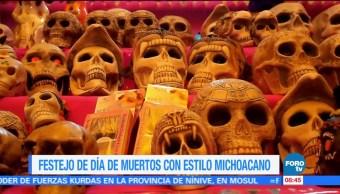 Extra, Extra: Festejo de Día de Muertos con estilo michoacano