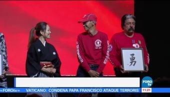 Pueblo japonés reconoció el heroísmo de México ante el sismo