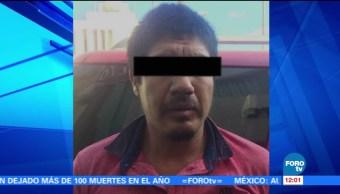Detienen a líder huachicolero en Salamanca, Guanajuato