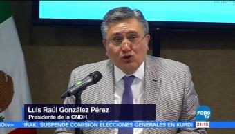 CNDH determina que hubo violaciones graves en caso Nochixtlán