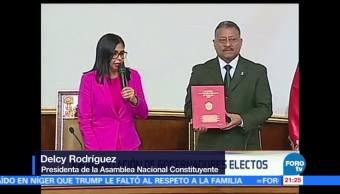 Gobernadores electos del oficialismo toman posesión en Venezuela