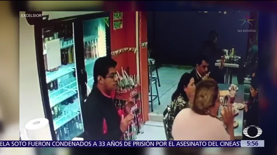 Asaltan taquería en la delegación Iztacalco, CDMX