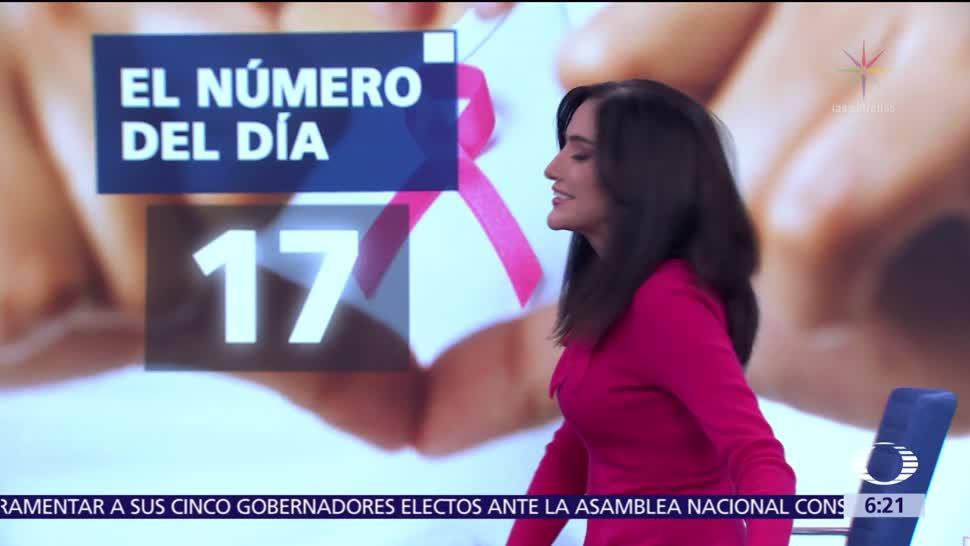 El número del día: 17