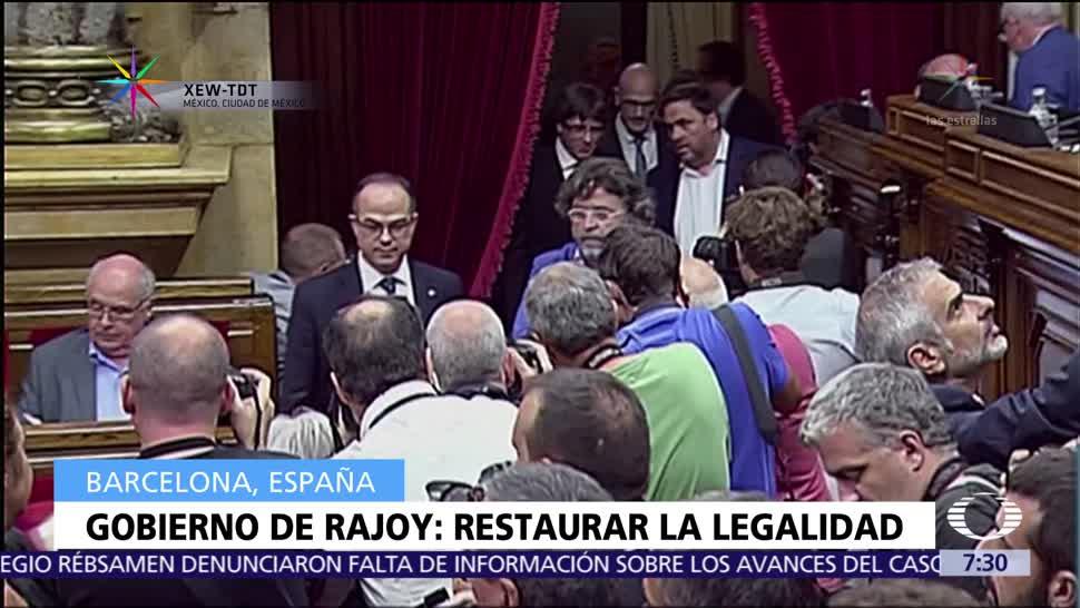 España convoca Consejo de Ministros extraordinario para activar el Artículo 155
