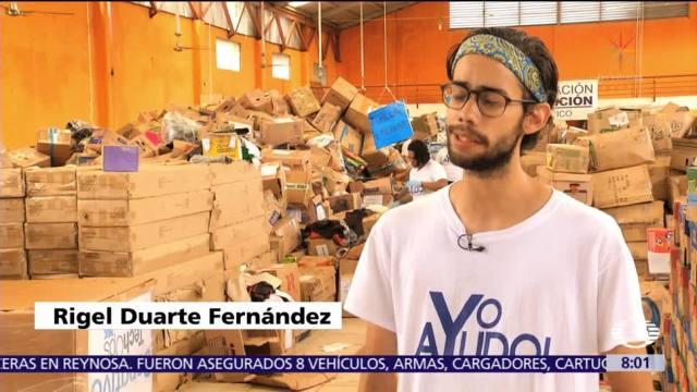 Millennials formarán fundación para apoyar a damnificados de sismos de septiembre