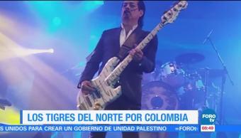 #LoEspectaculardeME: Los Tigres del Norte se presentan en Colombia
