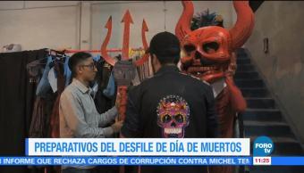Desfile de Día de Muertos en la Ciudad de México