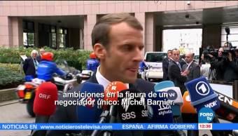 Macron aboga por unidad en España previo a cumbre de la UE