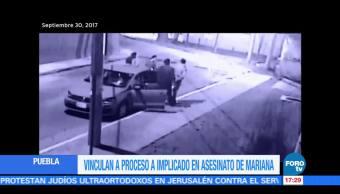 Vincula a proceso a implicado en homicidio de Marina en Puebla