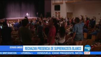 Rechazan presencia de supremacista en universidad de Florida