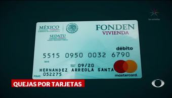 Explican por qué damnificados tienen tarjetas sin fondos