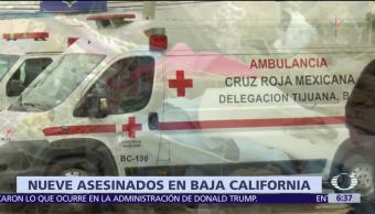 Encuentran 8 cuerpos en diferentes puntos de Ensenada, Baja California