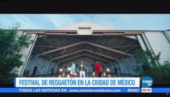 Festival de reggaetón en la Ciudad de México