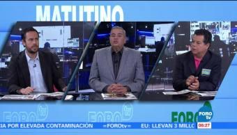 Matutino Express del 20 de octubre con Esteban Arce (Bloque 1)