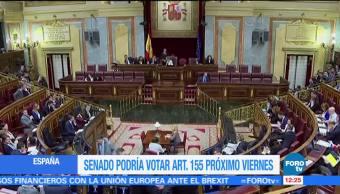 Alistan reunión extraordinaria del Consejo de Ministros en Madrid
