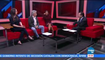 Juan Carlos Barreto y Michelle González presentan 'Papá a toda Madre'