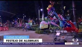Exponen alebrijes monumentales en Paseo de la Reforma, CDMX