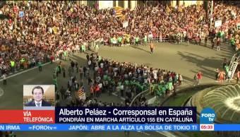 Declaración unilateral de independencia catalana constituiría un delito