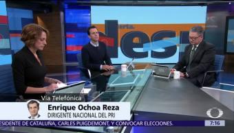 Enrique Ochoa Reza habla en Despierta del PRI y el 2018