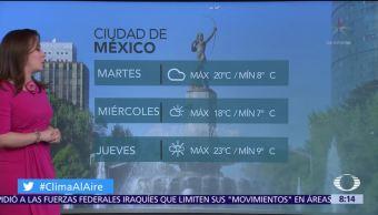 Clima Al Aire: Predominará ambiente frío en la Ciudad de México