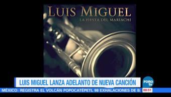 #LoEspectaculardeME: Luis Miguel lanza adelanto de su nueva canción
