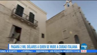 Extra, Extra: Pagarán 2 mil dólares a quien se mude a ciudad italiana