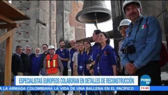 Especialistas europeos apoyan rehabilitación de inmuebles religiosos dañados por sismos en México