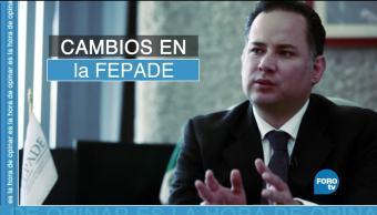 Cambios en la Fepade, sustitución de Santiago Nieto