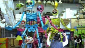 Inician festejos por Día de Muertos en la CDMX
